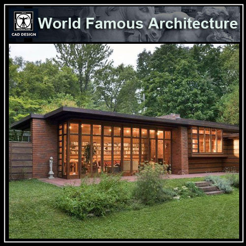 Herbert and Katherine Jacobs House-Frank Lloyd Wright