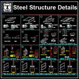 Free Steel Structure Details 6