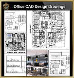 ★【Office, Commercial building, mixed business building, Conference room, bank,Headquarters CAD Design Drawings V.1】@Autocad Blocks,Drawings,CAD Details,Elevation