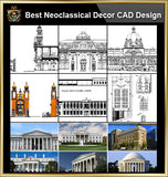 ★【Best Neoclassical Style Decor CAD Design Elements Collection】Neoclassical interior, Home decor,Traditional home decorating,Decoration@Autocad Blocks,Drawings,CAD Details,Elevation - CAD Design | Download CAD Drawings | AutoCAD Blocks | AutoCAD Symbols | CAD Drawings | Architecture Details│Landscape Details | See more about AutoCAD, Cad Drawing and Architecture Details