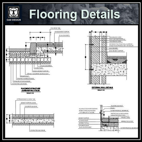Flooring design,Paving