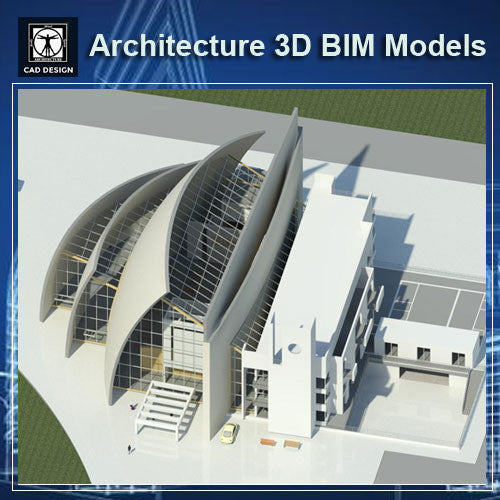 Church Design - BIM 3D Models