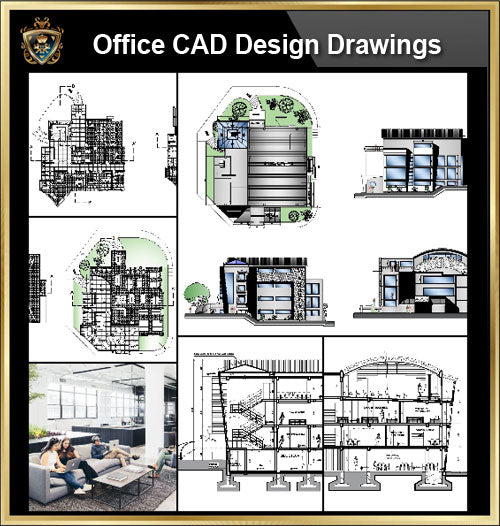 ★【Office, Commercial building, mixed business building CAD Design Project V.1】@Autocad Blocks,Drawings,CAD Details,Elevation - CAD Design | Download CAD Drawings | AutoCAD Blocks | AutoCAD Symbols | CAD Drawings | Architecture Details│Landscape Details | See more about AutoCAD, Cad Drawing and Architecture Details
