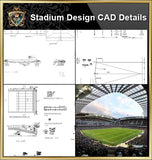 ★【Stadium CAD Blocks Bundle V.2-Stadium,Gymnasium, track and field, playground, sports hall】@basketball court, tennis court, badminton court, long jump, high jump ,CAD Blocks,Autocad Blocks,Drawings,CAD Details