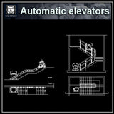 Free Automatic Elevator Details - CAD Design | Download CAD Drawings | AutoCAD Blocks | AutoCAD Symbols | CAD Drawings | Architecture Details│Landscape Details | See more about AutoCAD, Cad Drawing and Architecture Details