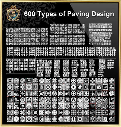 Over 600+ Types of Paving Design CAD Blocks - CAD Design | Download CAD Drawings | AutoCAD Blocks | AutoCAD Symbols | CAD Drawings | Architecture Details│Landscape Details | See more about AutoCAD, Cad Drawing and Architecture Details
