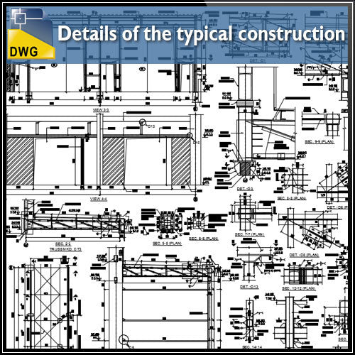 Details of the typical construction of canopy dwg files autocad files - CAD Design | Download CAD Drawings | AutoCAD Blocks | AutoCAD Symbols | CAD Drawings | Architecture Details│Landscape Details | See more about AutoCAD, Cad Drawing and Architecture Details