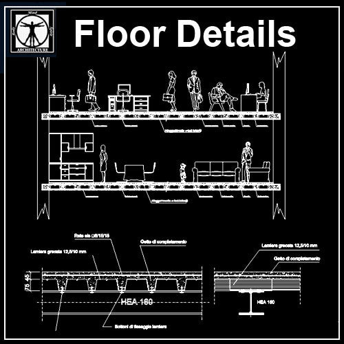 Free Floor Details 1 - CAD Design | Download CAD Drawings | AutoCAD Blocks | AutoCAD Symbols | CAD Drawings | Architecture Details│Landscape Details | See more about AutoCAD, Cad Drawing and Architecture Details