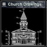 Cathedrals and Church  2 - CAD Design | Download CAD Drawings | AutoCAD Blocks | AutoCAD Symbols | CAD Drawings | Architecture Details│Landscape Details | See more about AutoCAD, Cad Drawing and Architecture Details
