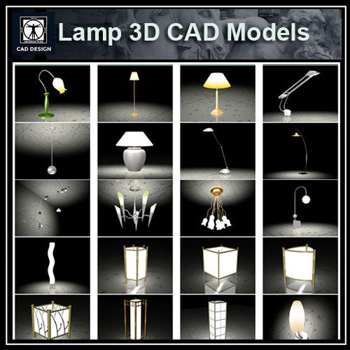 Lamp 3D Cad Models
