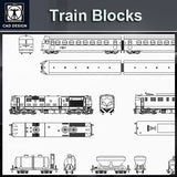 Free Train Blocks