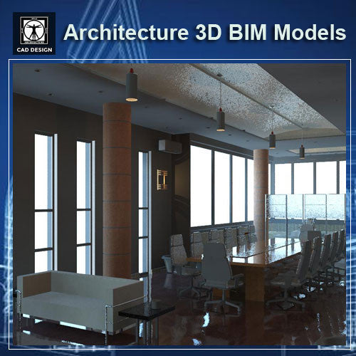 Interior Design 3D Models - BIM 3D Models