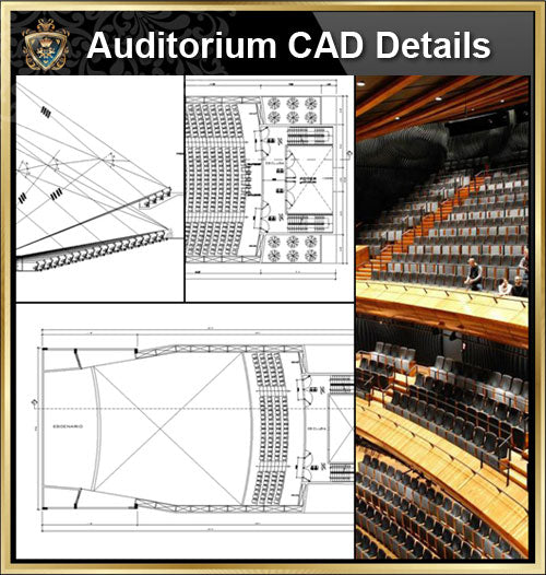 ★【Auditorium CAD Details V.2】@Auditorium Design,Autocad Blocks,AuditoriumDetails,Auditorium Section,Auditorium elevation design drawings - CAD Design | Download CAD Drawings | AutoCAD Blocks | AutoCAD Symbols | CAD Drawings | Architecture Details│Landscape Details | See more about AutoCAD, Cad Drawing and Architecture Details