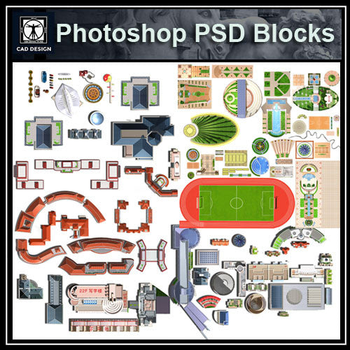 Photoshop PSD Paving Design Blocks 2