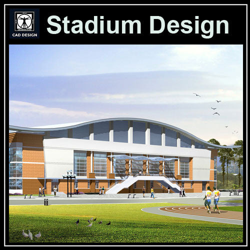 Stadium Cad Drawings 3