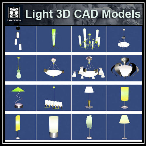 Light 3D Cad Models - CAD Design | Download CAD Drawings | AutoCAD Blocks | AutoCAD Symbols | CAD Drawings | Architecture Details│Landscape Details | See more about AutoCAD, Cad Drawing and Architecture Details