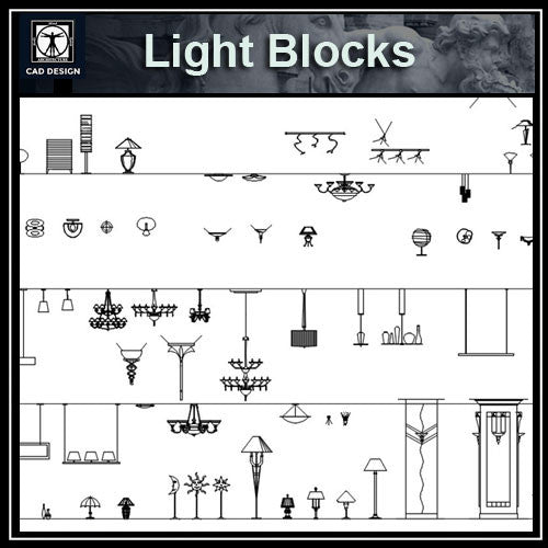 Lights and Lamps Blocks 2