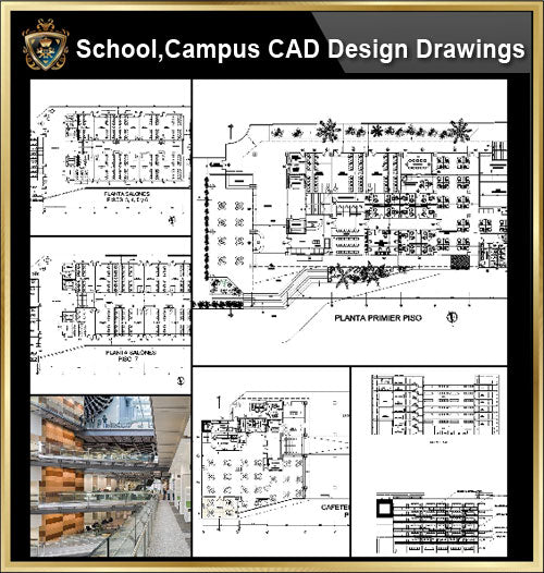 ★【School, University, College,Campus CAD Design Project V.3】@Autocad Blocks,Drawings,CAD Details,Elevation - CAD Design | Download CAD Drawings | AutoCAD Blocks | AutoCAD Symbols | CAD Drawings | Architecture Details│Landscape Details | See more about AutoCAD, Cad Drawing and Architecture Details