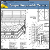 Free Perspective passable Terrace