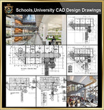 ★【University, campus, school, teaching equipment, research lab, laboratory CAD Design Drawings V.3】@Autocad Blocks,Drawings,CAD Details,Elevation
