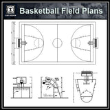 Basketball Field Plans