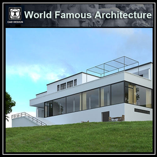 Tugendhat House-Mies Van Der Rohe - CAD Design | Download CAD Drawings | AutoCAD Blocks | AutoCAD Symbols | CAD Drawings | Architecture Details│Landscape Details | See more about AutoCAD, Cad Drawing and Architecture Details