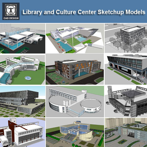 Home Design Software Sketchup: 【Download 15 Library Sketchup 3D Models】