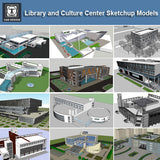【Download 15 Library Sketchup 3D Models】 (Recommanded!!) - CAD Design | Download CAD Drawings | AutoCAD Blocks | AutoCAD Symbols | CAD Drawings | Architecture Details│Landscape Details | See more about AutoCAD, Cad Drawing and Architecture Details