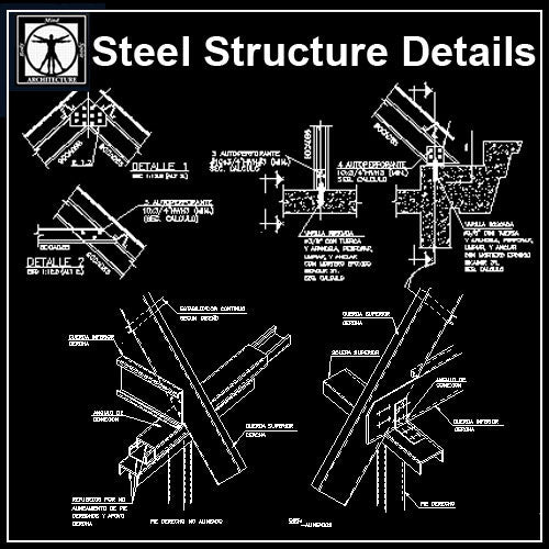Free Steel Structure Details 2