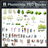 Hand-painted PSD People Blocks 2 - CAD Design | Download CAD Drawings | AutoCAD Blocks | AutoCAD Symbols | CAD Drawings | Architecture Details│Landscape Details | See more about AutoCAD, Cad Drawing and Architecture Details