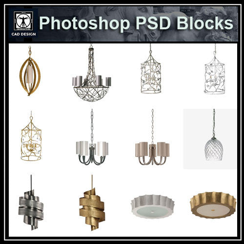 Photoshop PSD Ceiling Lights Blocks - CAD Design | Download CAD Drawings | AutoCAD Blocks | AutoCAD Symbols | CAD Drawings | Architecture Details│Landscape Details | See more about AutoCAD, Cad Drawing and Architecture Details
