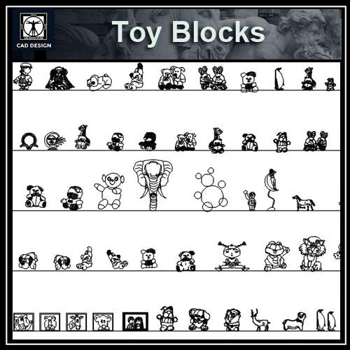 Free Interior Decorative blocks-Toys
