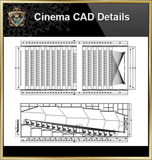 ★【Cinema, Theaters CAD Details 】@Auditorium ,Cinema, Theaters Design,Autocad Blocks,Cinema, Theaters Details,Cinema, Theaters Section,elevation design drawings