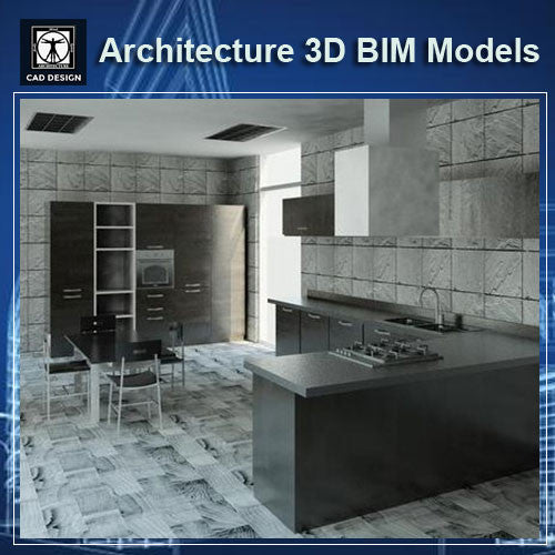 Restaurant Design- BIM 3D Models