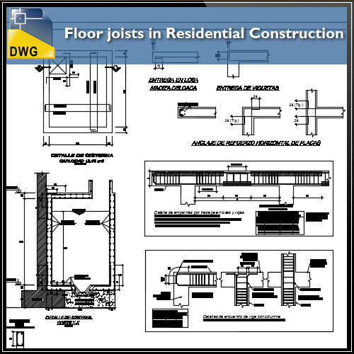 Floor joists in Residential Construction