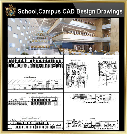 ★【School, University, College,Campus CAD Design Project V.5】@Autocad Blocks,Drawings,CAD Details,Elevation - CAD Design | Download CAD Drawings | AutoCAD Blocks | AutoCAD Symbols | CAD Drawings | Architecture Details│Landscape Details | See more about AutoCAD, Cad Drawing and Architecture Details