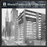 The Ford Foundation-Kevin Roche John Dinkeloo and Associates - CAD Design | Download CAD Drawings | AutoCAD Blocks | AutoCAD Symbols | CAD Drawings | Architecture Details│Landscape Details | See more about AutoCAD, Cad Drawing and Architecture Details