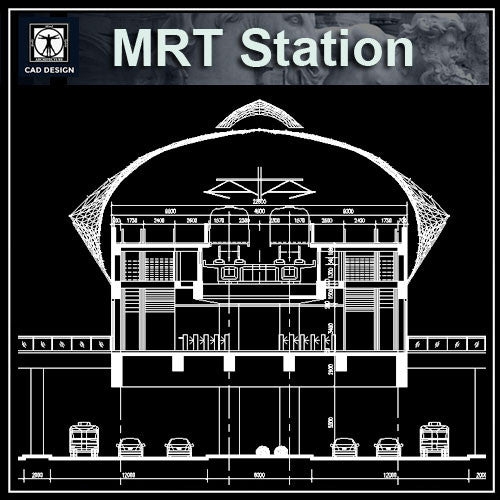 MRT Station Cad Drawings 1