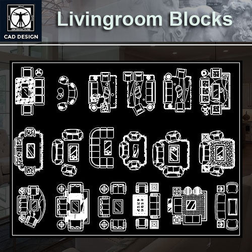 Free Living Room Blocks