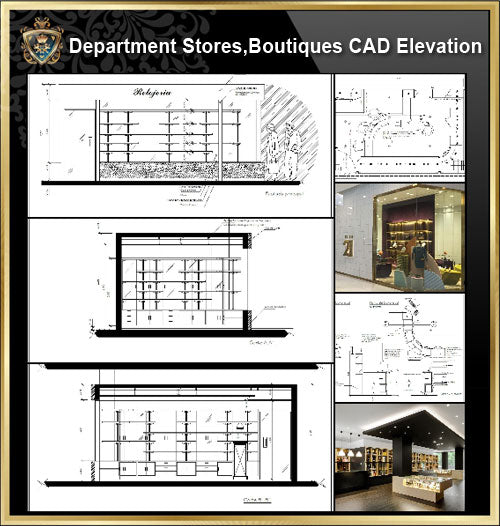 ★【Shopping Centers, Department Stores,Boutiques CAD Design Drawings V.1】@Boutiques, clothing stores, women's wear, men's wear, store design-Autocad Blocks,Drawings,CAD Details,Elevation - CAD Design | Download CAD Drawings | AutoCAD Blocks | AutoCAD Symbols | CAD Drawings | Architecture Details│Landscape Details | See more about AutoCAD, Cad Drawing and Architecture Details