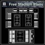 Free Stadium Plans 2 - CAD Design | Download CAD Drawings | AutoCAD Blocks | AutoCAD Symbols | CAD Drawings | Architecture Details│Landscape Details | See more about AutoCAD, Cad Drawing and Architecture Details