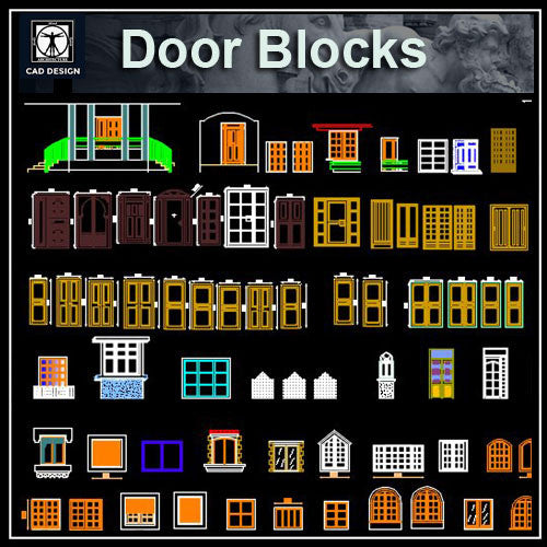 Door design blocks 2