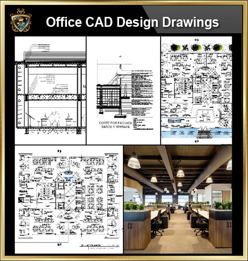 ★【Office, Commercial building, mixed business building CAD Design Project V.11】@Autocad Blocks,Drawings,CAD Details,Elevation - CAD Design | Download CAD Drawings | AutoCAD Blocks | AutoCAD Symbols | CAD Drawings | Architecture Details│Landscape Details | See more about AutoCAD, Cad Drawing and Architecture Details