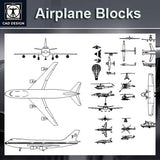 Free Airplane Blocks