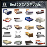 Bed 3D Cad Models