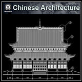 Chinese Architectural Drawings 2 - CAD Design | Download CAD Drawings | AutoCAD Blocks | AutoCAD Symbols | CAD Drawings | Architecture Details│Landscape Details | See more about AutoCAD, Cad Drawing and Architecture Details