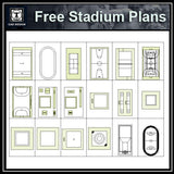 Free Stadium Plans - CAD Design | Download CAD Drawings | AutoCAD Blocks | AutoCAD Symbols | CAD Drawings | Architecture Details│Landscape Details | See more about AutoCAD, Cad Drawing and Architecture Details