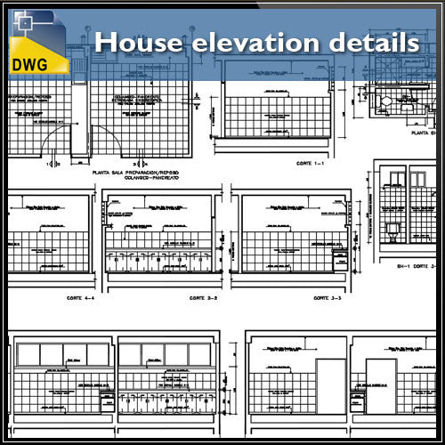 House elevation details
