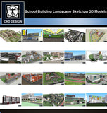 【Sketchup 3D Models】20 Types of School Design Sketchup 3D Models  V.3 - CAD Design | Download CAD Drawings | AutoCAD Blocks | AutoCAD Symbols | CAD Drawings | Architecture Details│Landscape Details | See more about AutoCAD, Cad Drawing and Architecture Details