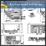 Kitchen detail and design